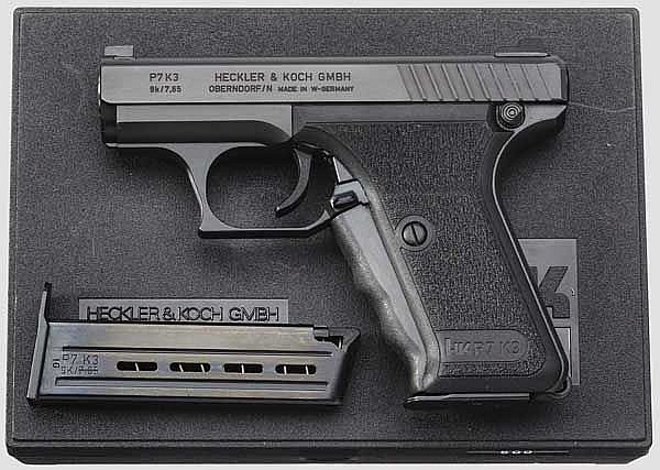 Heckler & Koch P7 K3, in Box