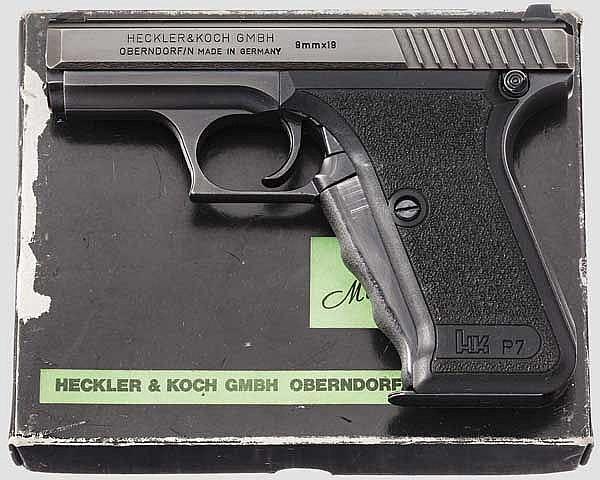 Heckler & Koch Mod. HK P 7, im Karton