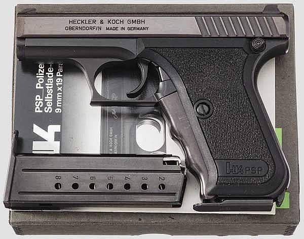 Heckler & Koch Mod. PSP, im Karton