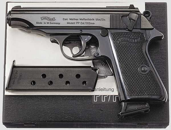 Walther PP, Ulm, in Box