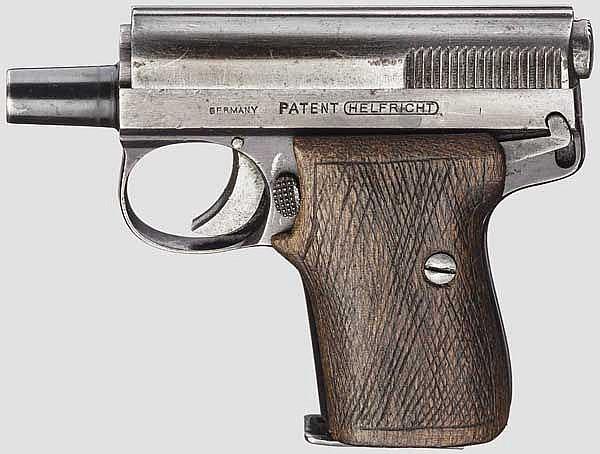 Pistole Helfricht Mod. 3