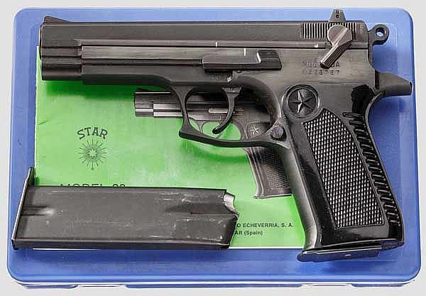 Star Mod. 28 DA, in Box