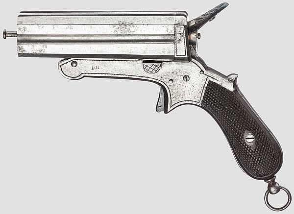 Biedermann-Pistole, um 1860