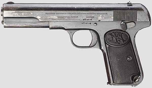 FN Mod. 1903, mit Anschlagschaft
