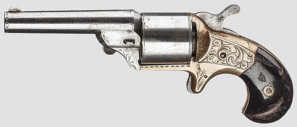 National Arms Front Loading-Teat Fire Revolver (Moore's Patent), um 1868