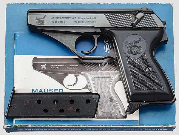 Mauser Mod. HSc, im Karton