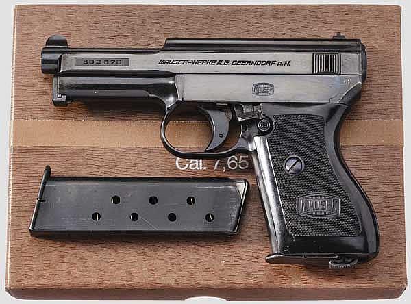 Mauser Mod. 34, im Karton