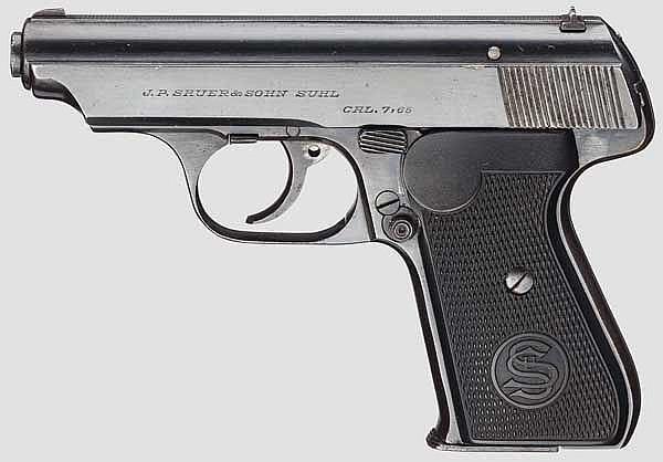 Sauer & Sohn Mod. 38, 1. Ausführung