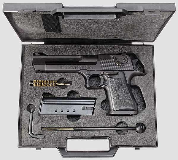 Desert Eagle .50 AE, im Koffer