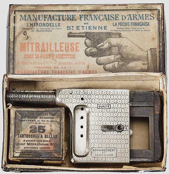 Handdruckpistole Mitrailleuse -