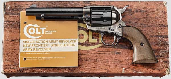 Colt Single Action Army 1873, Postwar, im Karton
