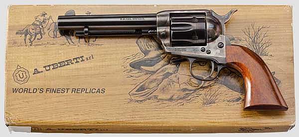 Colt 1873 Cattleman, Hege-Uberti, im Karton