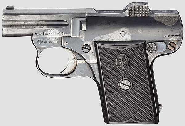 Pieper Mod. C 1907, 1. Ausführung