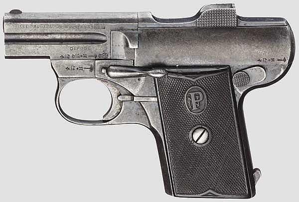 Pieper Mod. C 1907, 2. Ausführung