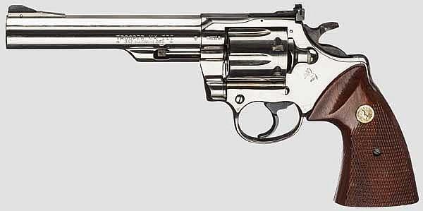 Colt Trooper MK III, vernickelt