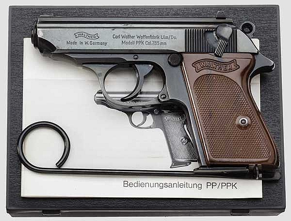 Walther PPK, Ulm, in Box