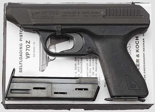 Heckler & Koch VP 70 Z, im Karton
