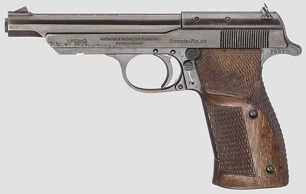 Walther Olympia-Pistole 1936, sog.