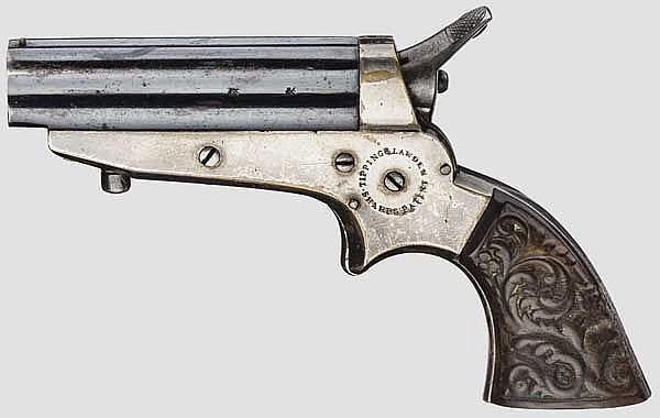 Sharps 4-Shot Pepperbox Pistol, Tipping & Lawden