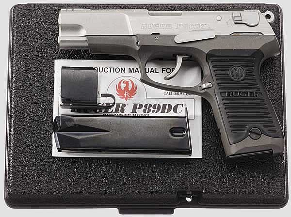 Ruger P 89 DC, in Box