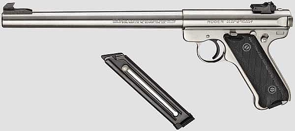 Ruger Mark II Target, Stainless