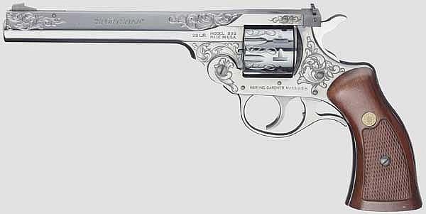 Harrington & Richardson Mod. 999, Commemorative Model 1 of 999, graviert