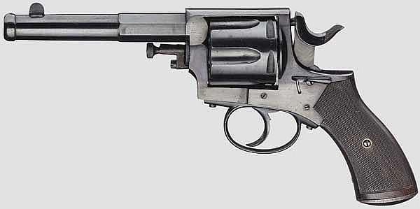 Belgischer Polizei-Offiziers-Revolver