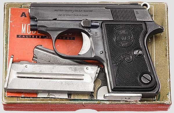 Astra Mod. 2000 Cub, frühe Ausführung, im Karton