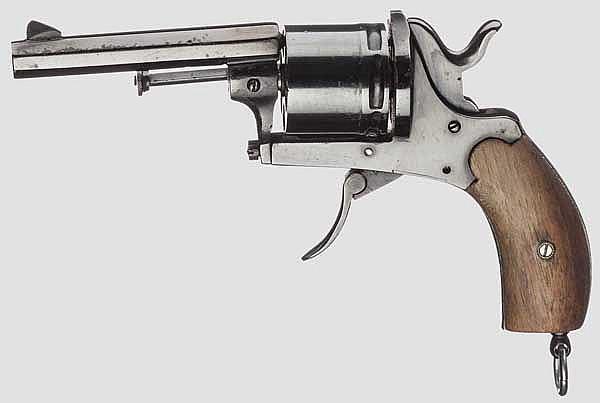 Sechsschüssiger deutscher Revolver