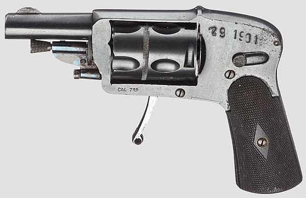 Velodog-Revolver, deutsch