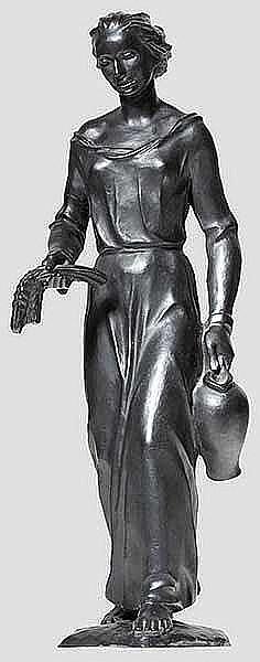 KUNST IM DRITTEN REICH: Heinrich Friedrich Moshage (1896 - 1968) - Allegorie des Sommers.