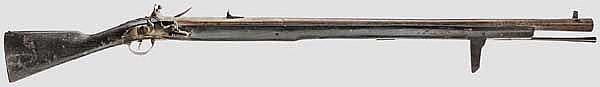 A wall gun, second half 18th century