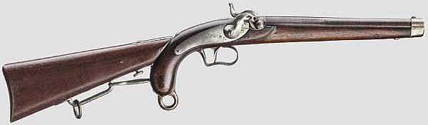 Kolbenpistole M 1850