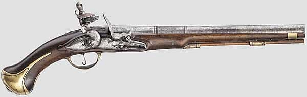 Dragonerpistole, um 1705