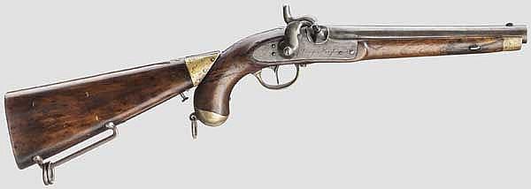 Kolbenpistole M 1854