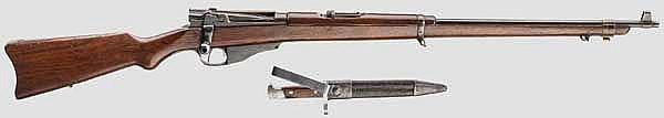 Winchester Lee Navy Rifle Mod. 1895, 2. Kontrakt, mit Messer-Bajonett