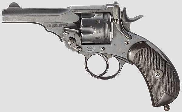 Webley Mark IV .455 Service Revolver