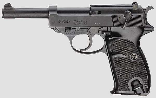 Walther P1, Bundeswehr, mit Tasche