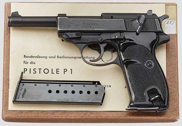 Walther P 38, BMI, im Karton