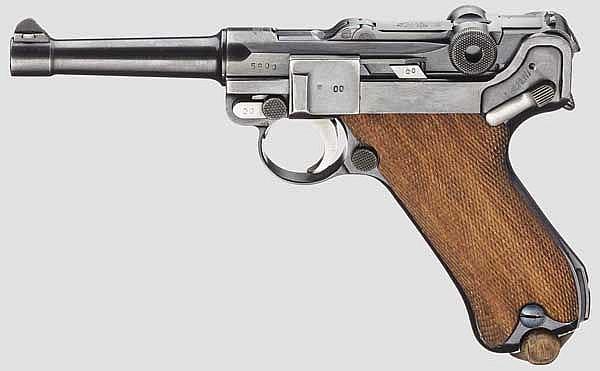 Pistole 08, DWM 1921 Alphabet, Reichswehr