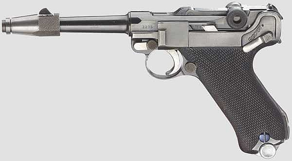 Pistole 08 Krieghoff, Code