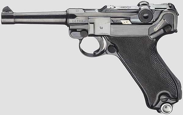 Pistole P. 08, Krieghoff 1938