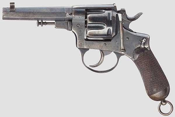 Pistola a rotazione Mod. 1889 B (geändert)