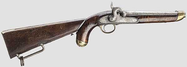 Kolbenpistole Mod. 1853
