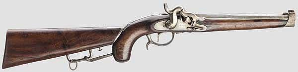 Hamburgische Spitzkugel-Dornpistole M 1856