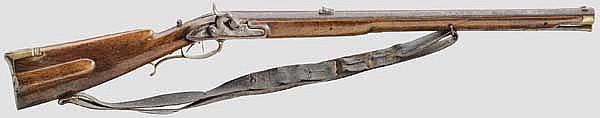 Jägerbüchse, deutsch um 1800