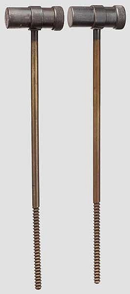 Two cleaning rods for Parabellum Commercial and Portugal etc.