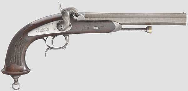 Offizierspistole M 1833 für Offiziere, 2. Modell