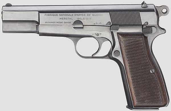 FN HP Mod. 35, mit Tasche, Polizei NRW