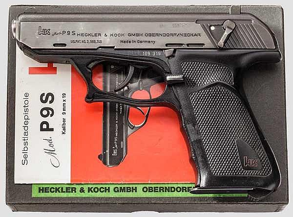 Heckler & Koch P 9 S, Behörde